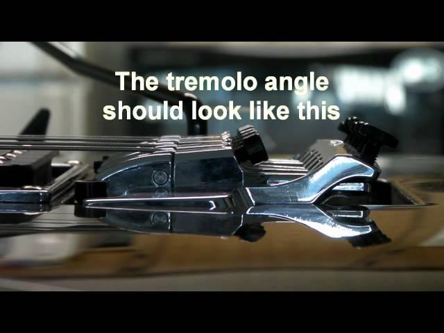 How to setup Ibanez Edge III Tremolo (new)