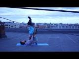 Йога с собой | Акро-баланс на крыше