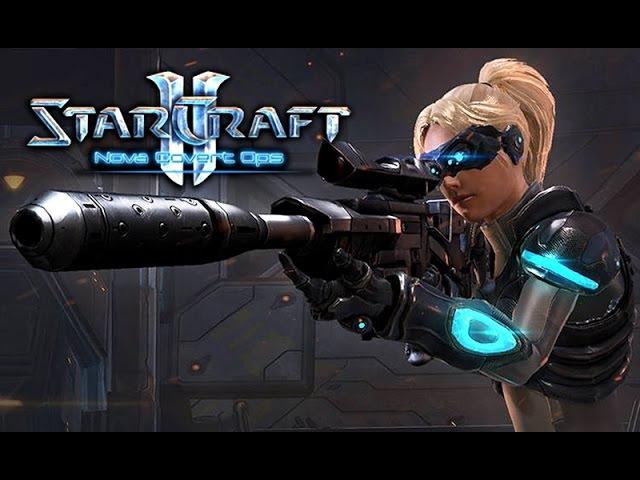 Фильм Starcraft 2 Nova Covert Ops (Нова Незримая Война) (полный игрофильм) [60fps, 1080p]