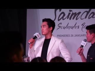 170107 Song Seung Heon ~ Saimdang Singapore promo
