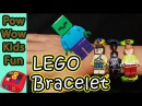 **SUPER COOL** HOW TO MAKE MINECRAFT LEGO BRACELET Tutorial DIY 마인크레프트 레고 팔찌 만드는 방법