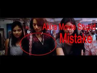 Akira Movie Stupids Mistakes |Bollywood Movies| Akira Hindi movie 2016