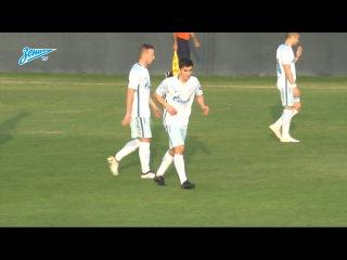 Первый гол Ибрагима Цаллагова за «Зенит»