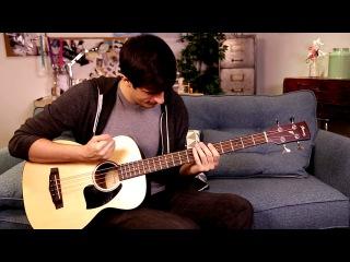 Соло на акустической бас гитаре