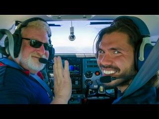 Как БЕСПЛАТНО полетать над APPLE кампусом, Золотыми Воротами, Алькатрасом (Сан-Франциско) ВЛОГ 360