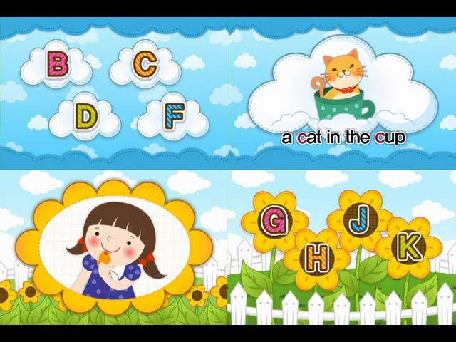 B C D F G H J K - ABC Phonics Chant Song 4 (Level II-Consonant)