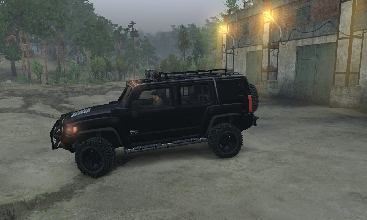Hummer H3 для 03.03.16 для Spintires - Скриншот 3