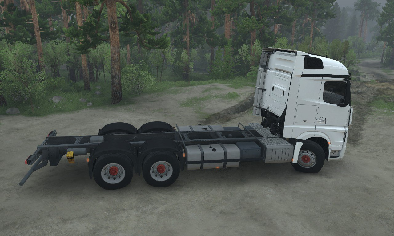Mercedes Benz Actros MP4 AFB для 03.03.16 для Spintires - Скриншот 2