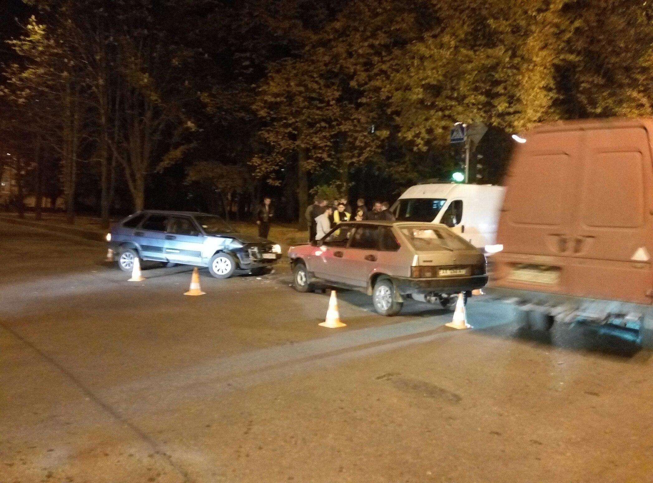 В Харькове случилось ДТП: пострадавших нет