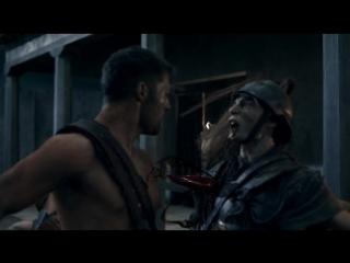 Спартак. Месть-Уничтожение гладиаторами отряда римлян на вилле