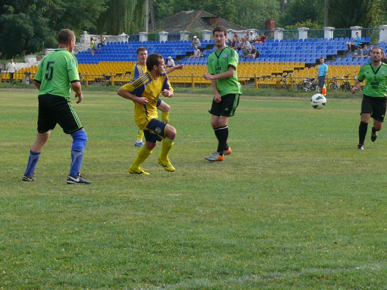 Результаты 18 тура Открытого Чемпионата Донецкой области .