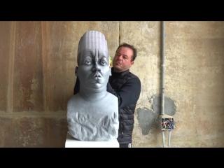 УДИВИТЕЛЬНО! Эта скульптура фактически сделана из тысячи листов бумаги