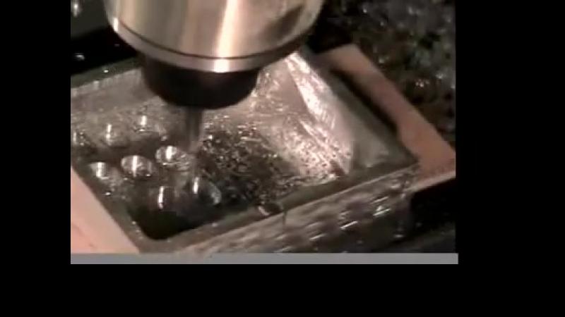 Roland MDX-540 milling aluminium keypad