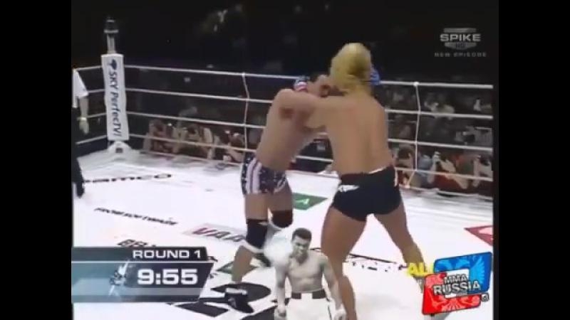 Самый жесткий бой, который я когда-либо видел- Дон Фрай против Йошихиро Такаяма