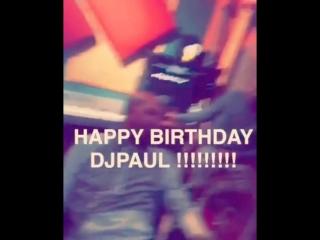 HAPPY BIRTHDAY DJ PAUL !
