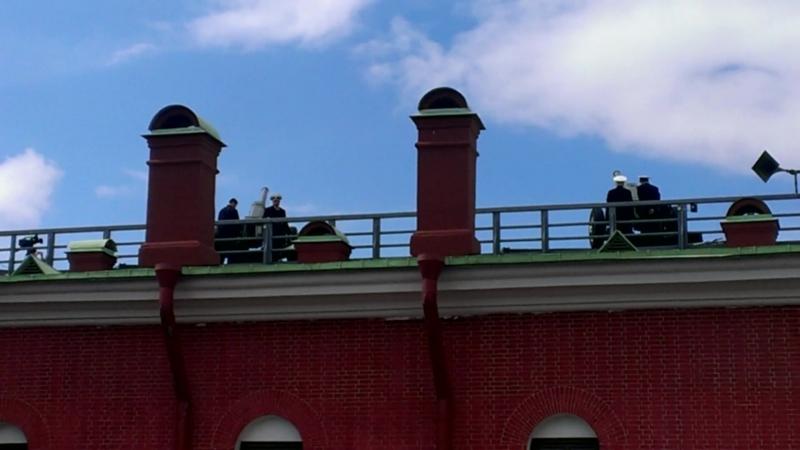 Петропавловская крепость, полдень