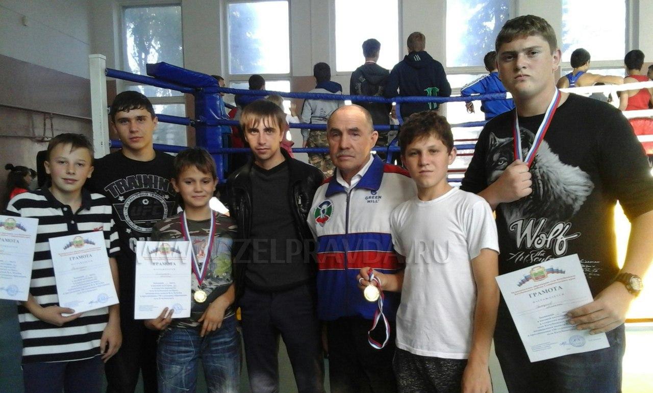 Спортсмены из Зеленчукского района призеры турнира по боксу