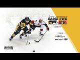 NHL 17 PS4. 2017 STANLEY CUP PLAYOFFS 100th EAST FINAL GAME 2 OTT VS PIT. 05.15.2017. (NBCSN) !