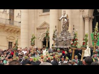 ПРИСУТСТВИЕ: Праздник Святой Лючии, Сиракузы, Сицилия, 2 мая.