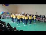 танци.Учителя танцуют. День краси та здоров'я. школа 287