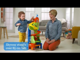 Smyths toys - little people sit 'n stand skyway play set