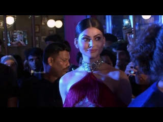 Urvashi Rautela and Vin Diesel get chatty at the xXx_ Return Of Xander Cage pr