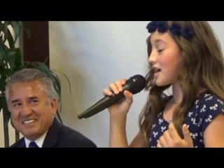 ПОЕТ МАЛЫШКА АННИКА Ya lo se que tu te vas - Juan Gabriel - Cover Annika Oviedo-kharasach.com