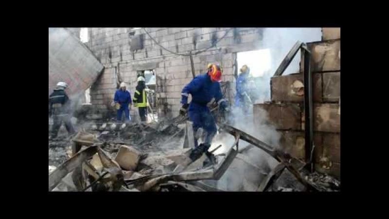 На місці пожежі будинку для престарілих на Броварщині завершилися пошуково-рятувальні роботи