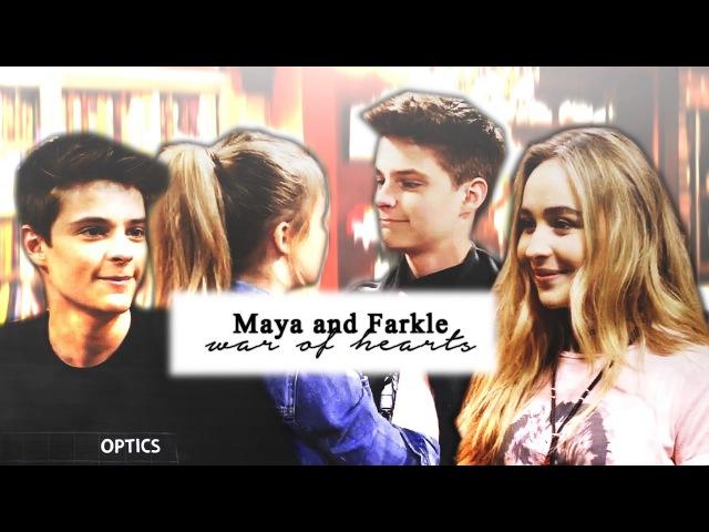 Maya and Farkle | war of hearts.