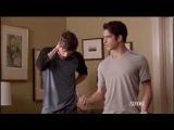Teen WolfScott And Isaac Watching Melissa McCall