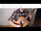 Tutorial Zelda's Lullaby - The Legend of Zelda Ocarina of Time on Guitar