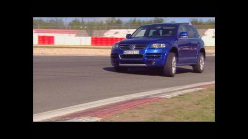 VW Touareg W12 Sport Der Motorvision Test auf Landstraße und Rennstrecke