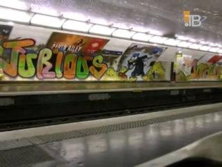 Бомбинг в Париже. ( Граффити )