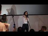 29.06.16г. Наталия Орейро на премьере фильма Наша Наташа исполняет песню Mar