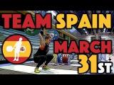 Team Spain - Martin (53), Garcia (53), Skandi (58), and Santiago (63)