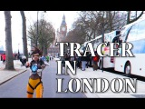 Tracer cosplay in London!