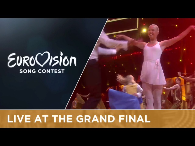 Måns Zelmerlöw and Petra Mede Love Love Peace Peace Interval Act at the Grand Final
