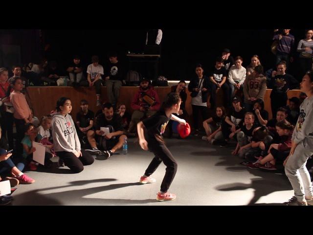 Аяулым vs Адия | Hip Hop Kids | Let's Go Battle 30 April