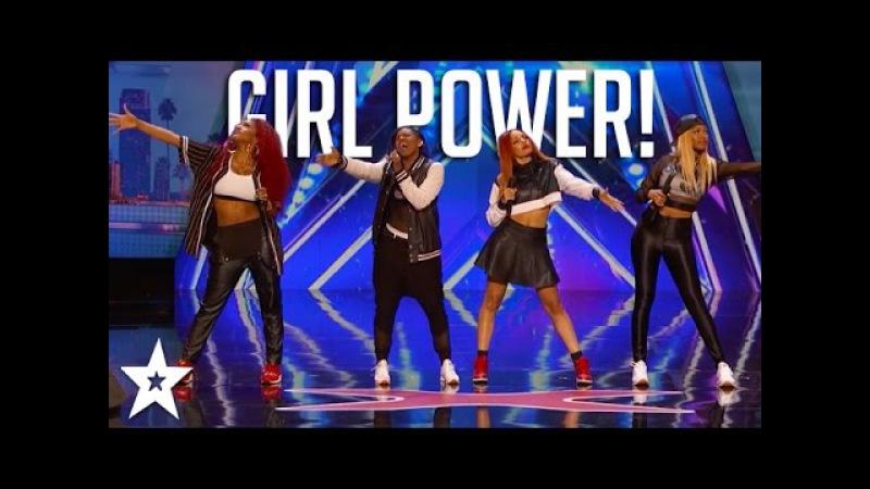Girl Power! AMAZING GIRLBANDS on Got Talent   Got Talent Global