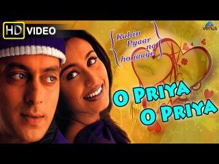 O Priya O Priya (HD) Full Video Song   Kahin Pyaar Na Ho Jaaye   Salman Khan, Raveena Tandon  