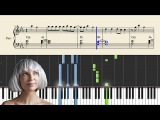 Sia - The Greatest - Piano Tutorial + Sheets