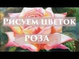 РИСУЕМ РОЗОВУЮ РОЗУ Ольга Успенская РИСУЕМ ОНЛАЙН