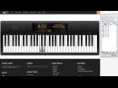 UoPilot plays the piano