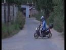 дрифт на скутере