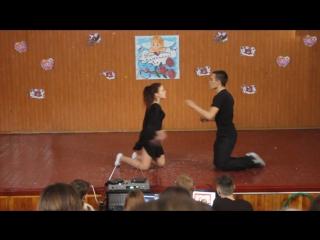 Идеальная пара. Оля и Максим. Танец