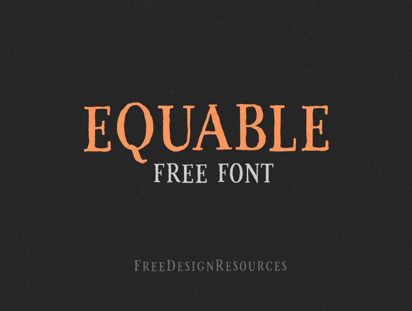 Download Equable font (typeface)