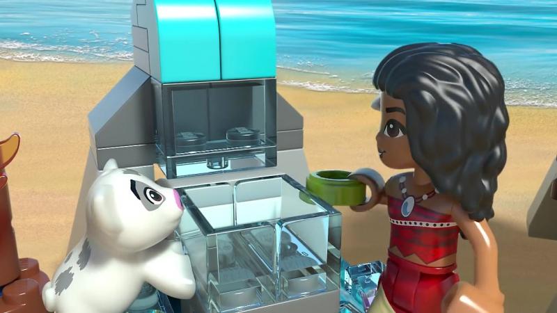LEGO Disney Princess - Приключения Моаны на затерянном острове