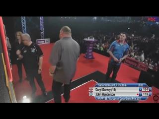 Daryl Gurney vs John Henderson (European Darts Grand Prix 2017 / Round 2)