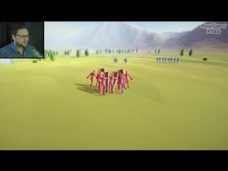 КУПЛИНОВ УШЁЛ НА ВОЙНУ ► Totally Accurate Battle Simulator #1