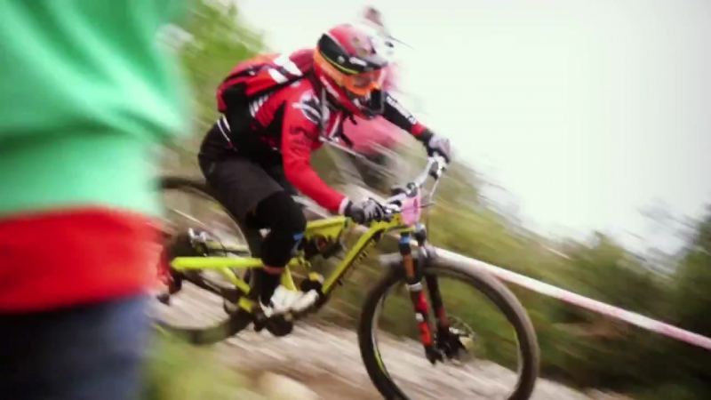 Isabeau Courdurier - Mountain Bike Star on Trans World Sport